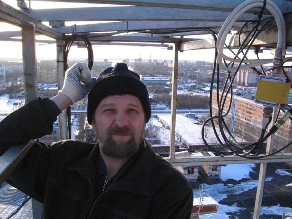 Нацистская радио станция UA1AEY из петербурга